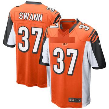 Youth Nike Cincinnati Bengals Isiah Swann Orange Jersey - Game