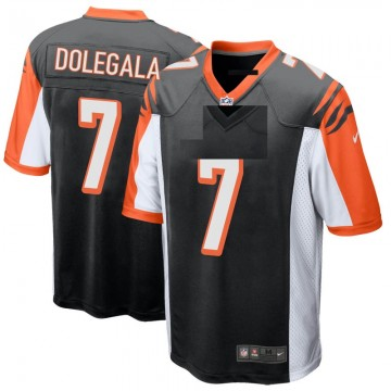 Youth Nike Cincinnati Bengals Jacob Dolegala Black Team Color Jersey - Game