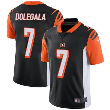 Youth Nike Cincinnati Bengals Jacob Dolegala Black Team Color Vapor Untouchable Jersey - Limited