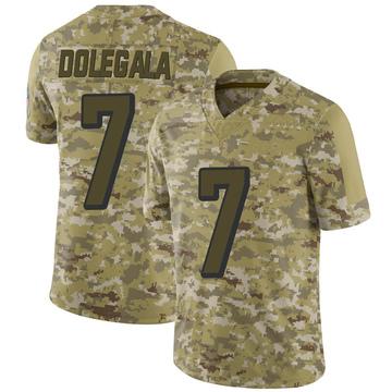 Youth Nike Cincinnati Bengals Jacob Dolegala Camo 2018 Salute to Service Jersey - Limited
