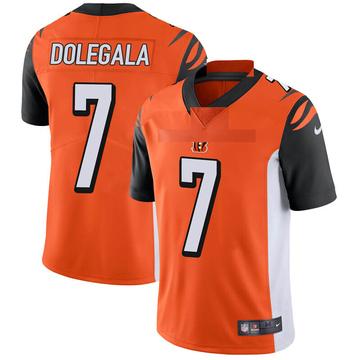 Youth Nike Cincinnati Bengals Jacob Dolegala Orange Vapor Untouchable Jersey - Limited