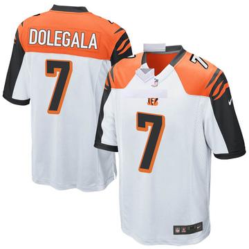 Youth Nike Cincinnati Bengals Jacob Dolegala White Jersey - Game