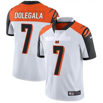 Youth Nike Cincinnati Bengals Jacob Dolegala White Vapor Untouchable Jersey - Limited