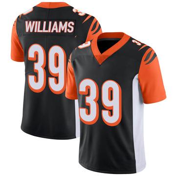 Youth Nike Cincinnati Bengals Jarveon Williams Black 100th Vapor Jersey - Limited