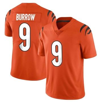 Youth Nike Cincinnati Bengals Joe Burrow Orange Vapor Untouchable Jersey - Limited