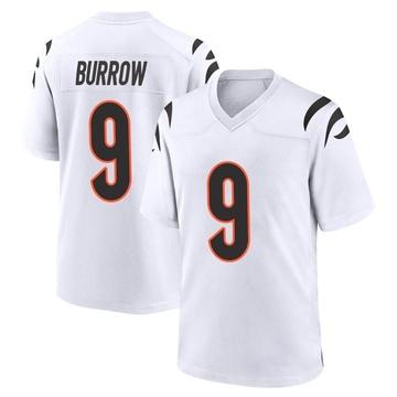 Youth Nike Cincinnati Bengals Joe Burrow White Jersey - Game