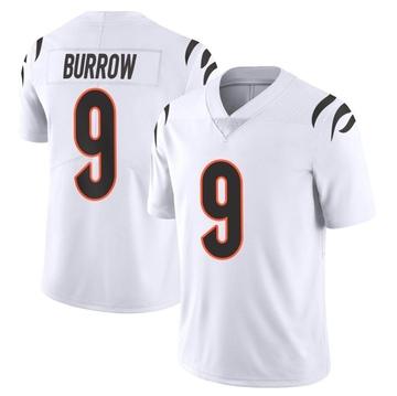Youth Nike Cincinnati Bengals Joe Burrow White Vapor Untouchable Jersey - Limited