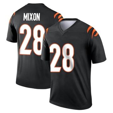 Youth Nike Cincinnati Bengals Joe Mixon Black Jersey - Legend