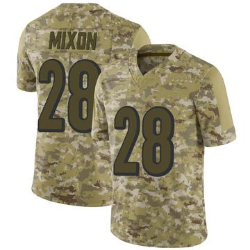 Youth Nike Cincinnati Bengals Joe Mixon Camo 2018 Salute to Service Jersey - Limited