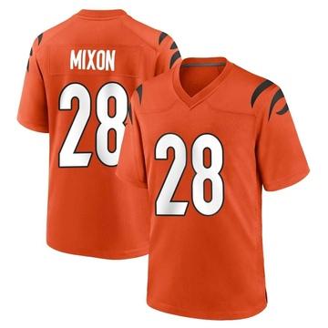 Youth Nike Cincinnati Bengals Joe Mixon Orange Jersey - Game