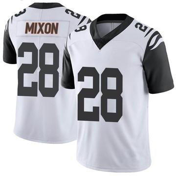Youth Nike Cincinnati Bengals Joe Mixon White Color Rush Vapor Untouchable Jersey - Limited