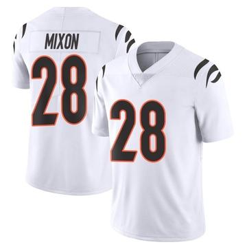 Youth Nike Cincinnati Bengals Joe Mixon White Vapor Untouchable Jersey - Limited