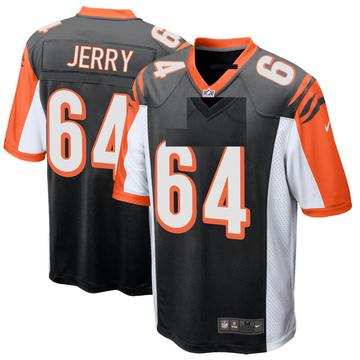 Youth Nike Cincinnati Bengals John Jerry Black Team Color Jersey - Game