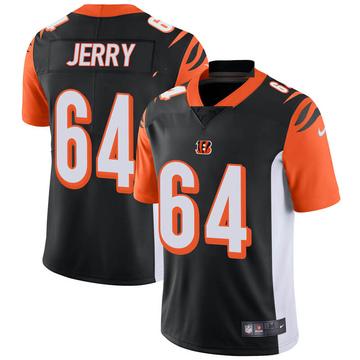 Youth Nike Cincinnati Bengals John Jerry Black Team Color Vapor Untouchable Jersey - Limited
