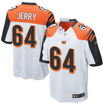 Youth Nike Cincinnati Bengals John Jerry White Jersey - Game
