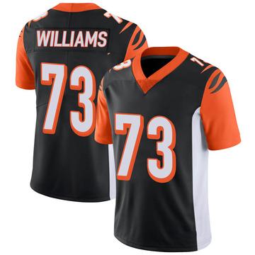 Youth Nike Cincinnati Bengals Jonah Williams Black 100th Vapor Jersey - Limited