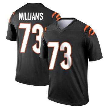 Youth Nike Cincinnati Bengals Jonah Williams Black Jersey - Legend