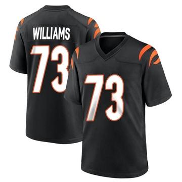 Youth Nike Cincinnati Bengals Jonah Williams Black Team Color Jersey - Game