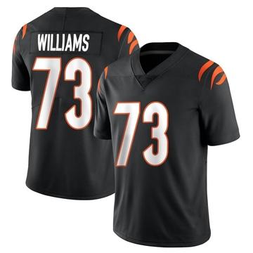 Youth Nike Cincinnati Bengals Jonah Williams Black Team Color Vapor Untouchable Jersey - Limited