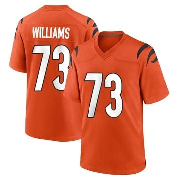 Youth Nike Cincinnati Bengals Jonah Williams Orange Jersey - Game