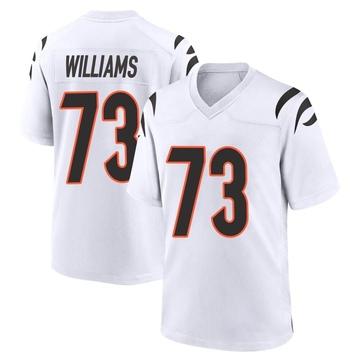 Youth Nike Cincinnati Bengals Jonah Williams White Jersey - Game