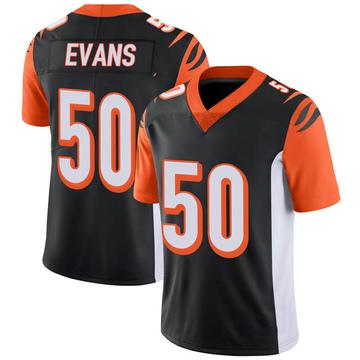 Youth Nike Cincinnati Bengals Jordan Evans Black 100th Vapor Jersey - Limited