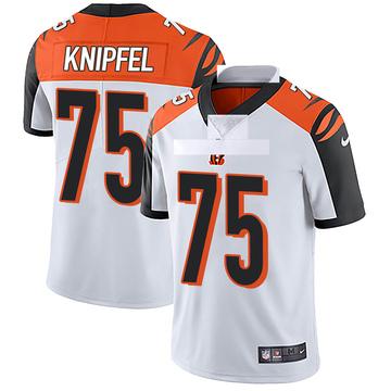 Youth Nike Cincinnati Bengals Josh Knipfel White Vapor Untouchable Jersey - Limited