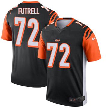 Youth Nike Cincinnati Bengals Kendall Futrell Black Jersey - Legend
