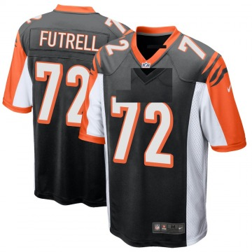 Youth Nike Cincinnati Bengals Kendall Futrell Black Team Color Jersey - Game