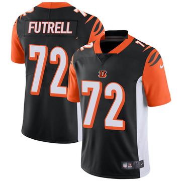 Youth Nike Cincinnati Bengals Kendall Futrell Black Team Color Vapor Untouchable Jersey - Limited