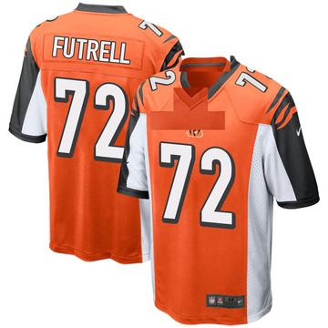 Youth Nike Cincinnati Bengals Kendall Futrell Orange Jersey - Game