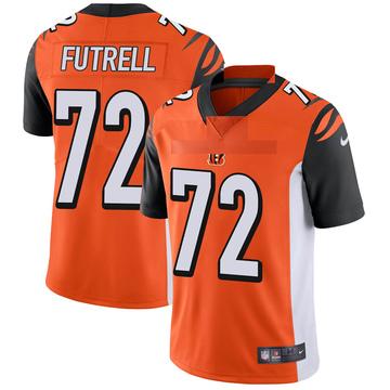 Youth Nike Cincinnati Bengals Kendall Futrell Orange Vapor Untouchable Jersey - Limited