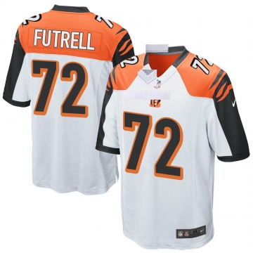 Youth Nike Cincinnati Bengals Kendall Futrell White Jersey - Game