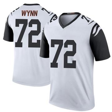 Youth Nike Cincinnati Bengals Kerry Wynn White Color Rush Jersey - Legend