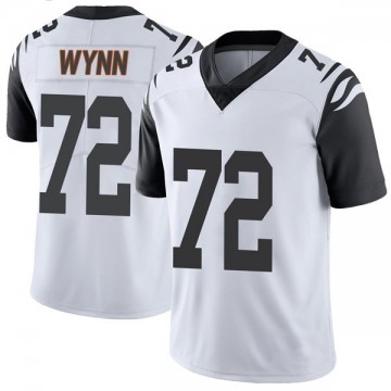 Youth Nike Cincinnati Bengals Kerry Wynn White Color Rush Vapor Untouchable Jersey - Limited