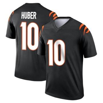 Youth Nike Cincinnati Bengals Kevin Huber Black Jersey - Legend