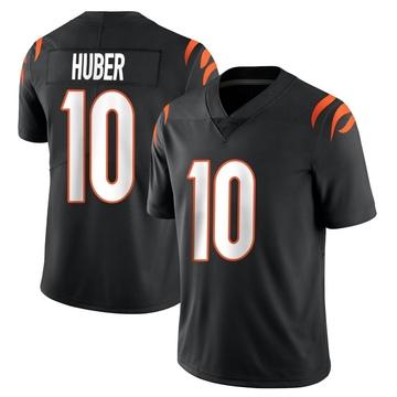 Youth Nike Cincinnati Bengals Kevin Huber Black Team Color Vapor Untouchable Jersey - Limited