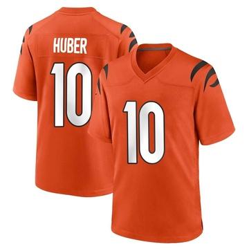 Youth Nike Cincinnati Bengals Kevin Huber Orange Jersey - Game