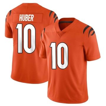 Youth Nike Cincinnati Bengals Kevin Huber Orange Vapor Untouchable Jersey - Limited