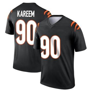 Youth Nike Cincinnati Bengals Khalid Kareem Black Jersey - Legend