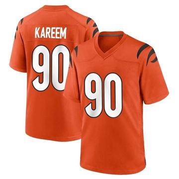 Youth Nike Cincinnati Bengals Khalid Kareem Orange Jersey - Game