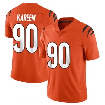 Youth Nike Cincinnati Bengals Khalid Kareem Orange Vapor Untouchable Jersey - Limited