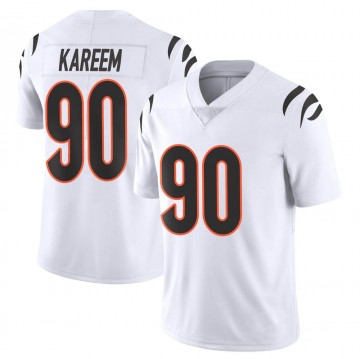 Youth Nike Cincinnati Bengals Khalid Kareem White Vapor Untouchable Jersey - Limited