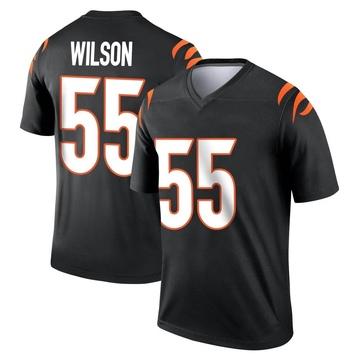 Youth Nike Cincinnati Bengals Logan Wilson Black Jersey - Legend