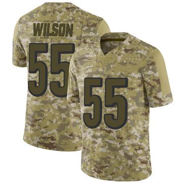 Youth Nike Cincinnati Bengals Logan Wilson Camo 2018 Salute to Service Jersey - Limited