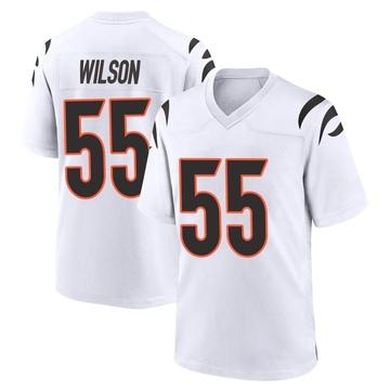 Youth Nike Cincinnati Bengals Logan Wilson White Jersey - Game
