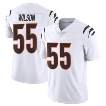 Youth Nike Cincinnati Bengals Logan Wilson White Vapor Untouchable Jersey - Limited