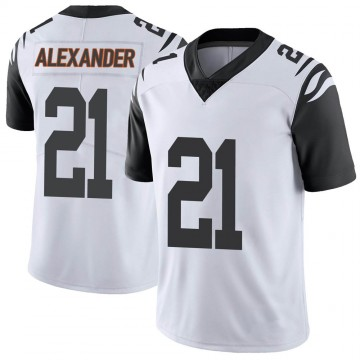 Youth Nike Cincinnati Bengals Mackensie Alexander White Color Rush Vapor Untouchable Jersey - Limited