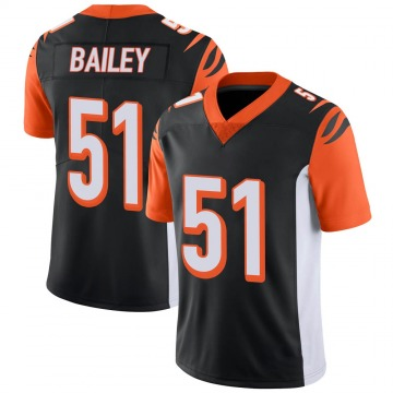 Youth Nike Cincinnati Bengals Markus Bailey Black 100th Vapor Jersey - Limited