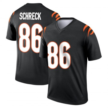 Youth Nike Cincinnati Bengals Mason Schreck Black Jersey - Legend